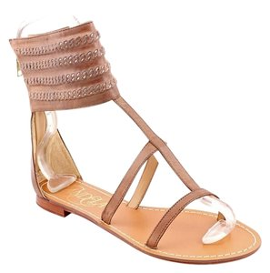 Candela Leather Bohemian Deep Brown Sandals
