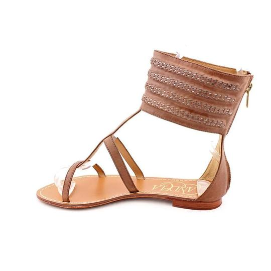Candela Leather Bohemian Brown Sandals