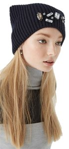Rebecca Minkoff New! Rebecca Minkoff Amy Knit Hat with Crystal Embellishments