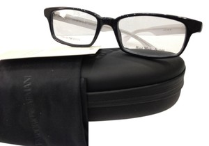 Emporio Armani NEW EMPORIO ARMANI EA9777 COLOR OB3 BLACK PLASTIC EYEGLASSES MADE IN ITALY 51MM