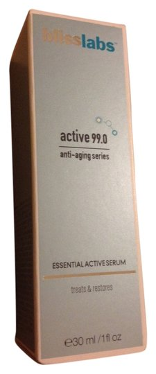 Bliss Bliss active 99.0 antiaging series essential active serum 30ml new in box