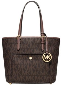 Michael Kors Tote in dusty rose/brown
