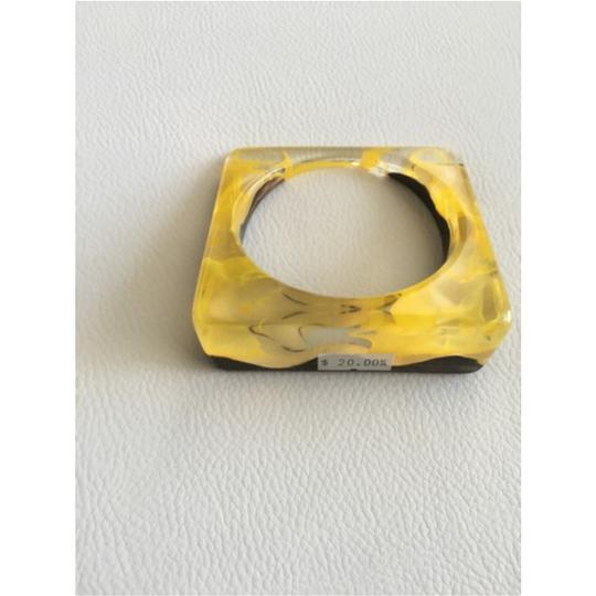 Other Yellow and Chocolate Bracelet