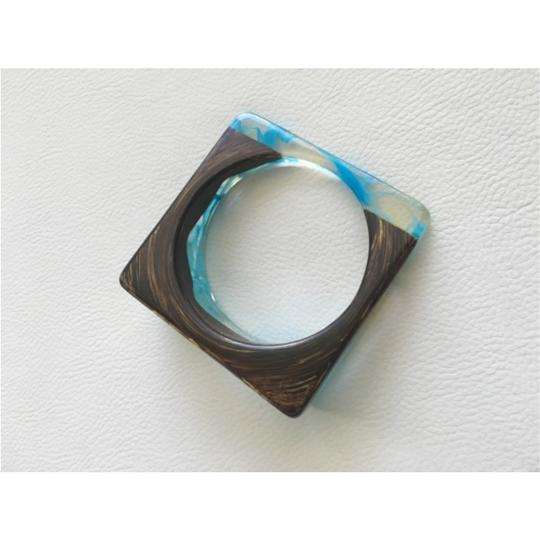 Other Turquoise and Chocolate Bracelet