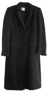 Armani Collezioni Curly Wool Winter Jacket Warm Coat