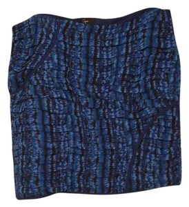 Aqua Mini Skirt Blue