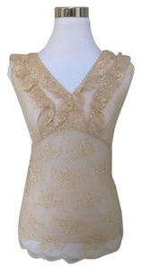 Only Hearts Lace Top Beige