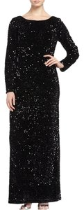 Chetta B. by Sherrie Bloom and Peter Noviello Stretch Velvet Gown Dress