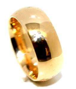 Ella Bridals Yellow 8mm Gem's Men's Wedding Band