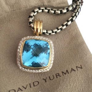 David Yurman David Yurman Diamond Pendant Albion with Gold