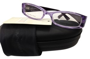 Emporio Armani NEW EMPORIO ARMANI EA9835 COLOR 6X5 PURPLE PLASTIC EYEGLASSES 51MM ITALY