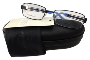 Emporio Armani NEW EMPORIO ARMANI EA9768 COLOR O8V BLUE EYEGLASSES FRAME MADE IN ITALY