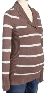 Old Navy Striped Shawl-Collar Sweater