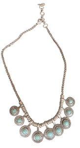 Lucky Brand Lucky Brand silver and Turquoise necklace.