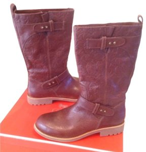 Coach Rust Brown Boots