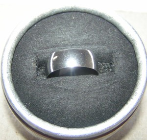 Wide Stainless Steel Silver Band Ring Free Shipping