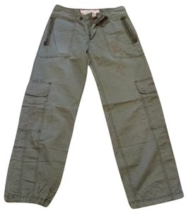 Abercrombie & Fitch Relaxed Pants Camo green