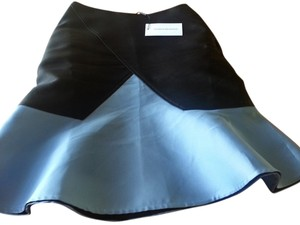 OSTWALD HELGASON Skirt Blue and black