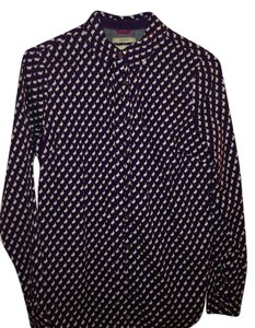G.H. Bass & Co. Button Down Shirt Purple