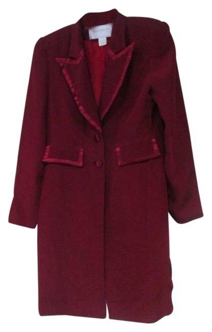 Preload https://img-static.tradesy.com/item/8926849/hugo-buscati-red-lightweight-holiday-jacket-pea-coat-size-6-s-0-1-650-650.jpg