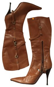Cesare Paciotti luggage/tan Boots