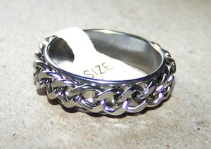 Stainless Steel Spinner Ring Free Shipping