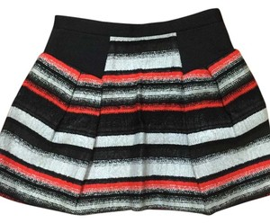 MILLY Mini Skirt Aztec