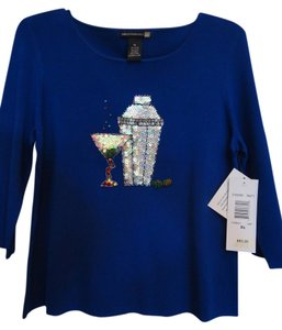 Sweaterworks T Shirt Cobalt Blue