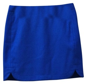 J.Crew Mini Skirt Royal Blue