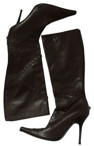 Casadei chocolate brown Boots