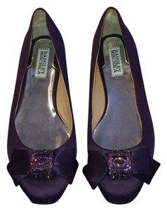Badgley Mischka Purple Flats