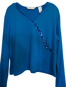 Preston & York Top Royal Blue