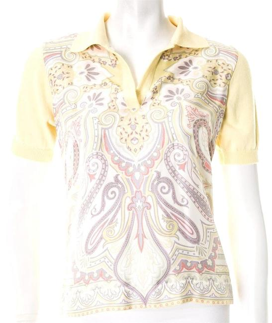 Preload https://img-static.tradesy.com/item/8928610/etro-yellow-button-down-top-size-2-xs-0-1-650-650.jpg
