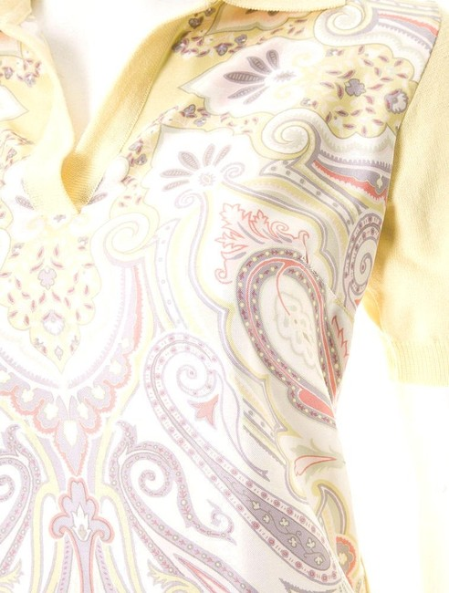 Etro Button Down Shirt Yellow