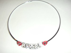 Michaels Bride Rhinestone Necklace