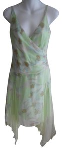Laundry by Shelli Segal short dress MINT GREEN MULTI FLORAL on Tradesy