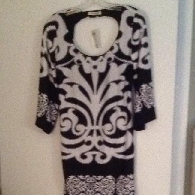 Arden B short dress Black And White Print on Tradesy