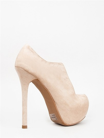Qupid nude Boots