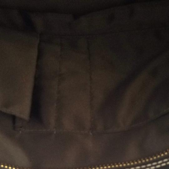Coach Large Pebble Leather Sturdy Tote in Black