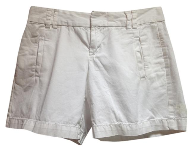 Ann Taylor LOFT Jcrew Summer Shorts White