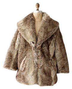 Bar III Faux Fur Coat