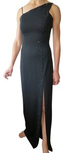 Niki Lavis Beaded Prom Asymmetrical Dress