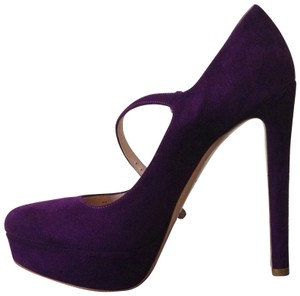 Miu Miu Amethyst Purple Pumps