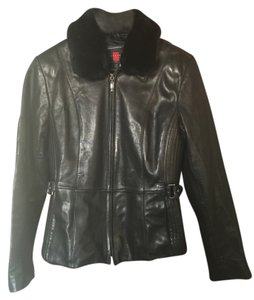 Gallery petite Leather Jacket