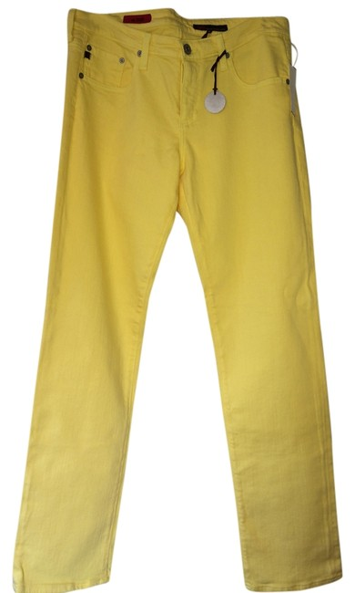 Item - Yellow Medium Wash Stilt Skinny Jeans Size 32 (8, M)