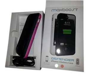 Maxboost Brand new iphone 5 battery case ( for any iphone 5 device)
