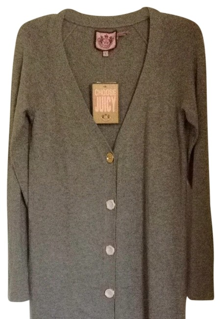 Preload https://item2.tradesy.com/images/juicy-couture-gray-just-reduced-cardigan-size-12-l-893731-0-0.jpg?width=400&height=650