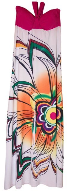 Multi Maxi Dress by In Gear Summer White Maxi Sleeveless Spring