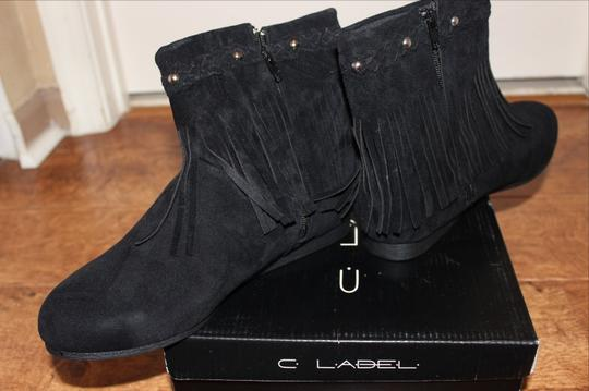 C LaBEL SORA Black Boots