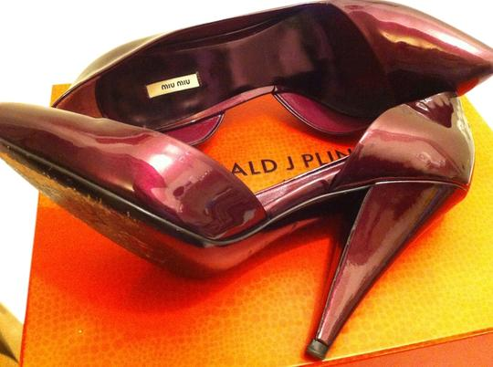 Miu Miu Wine Pumps